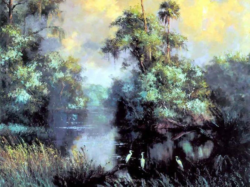 他自学成才,被称为是佛罗里达州画家的院长插图21