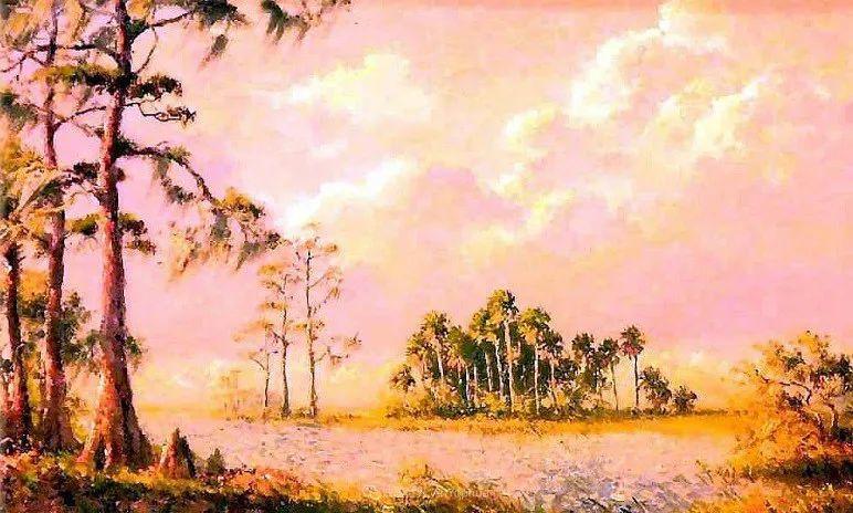 他自学成才,被称为是佛罗里达州画家的院长插图23