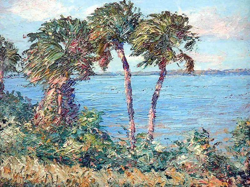 他自学成才,被称为是佛罗里达州画家的院长插图27