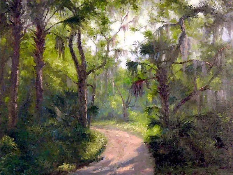 他自学成才,被称为是佛罗里达州画家的院长插图29