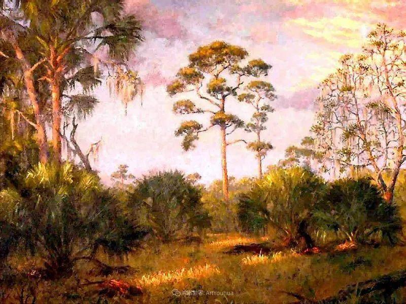 他自学成才,被称为是佛罗里达州画家的院长插图31