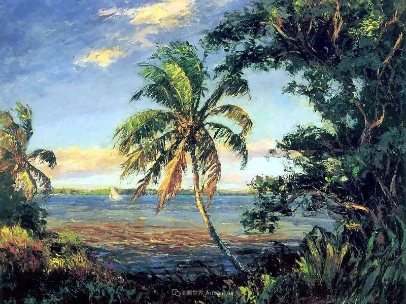 他自学成才,被称为是佛罗里达州画家的院长插图33