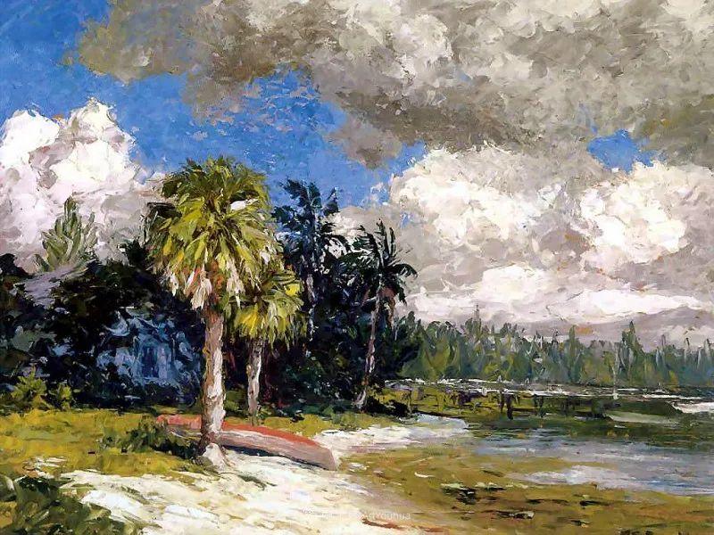 他自学成才,被称为是佛罗里达州画家的院长插图39
