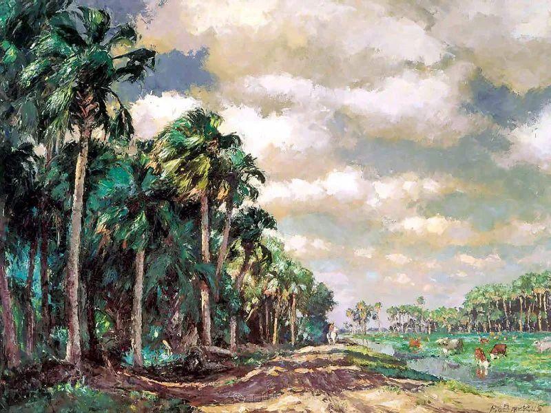 他自学成才,被称为是佛罗里达州画家的院长插图41
