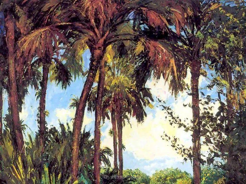 他自学成才,被称为是佛罗里达州画家的院长插图43