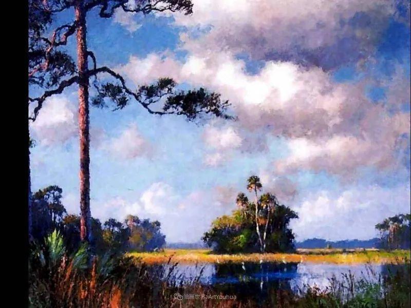他自学成才,被称为是佛罗里达州画家的院长插图45