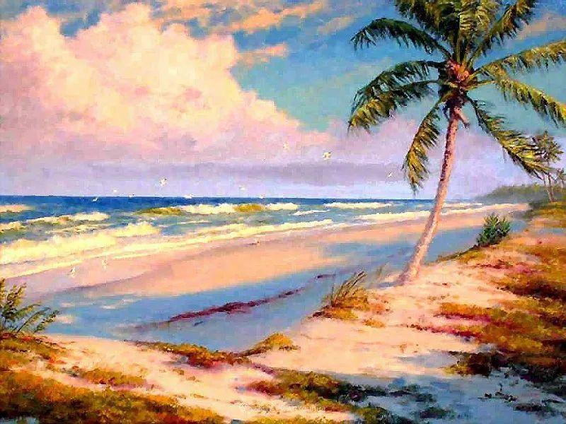 他自学成才,被称为是佛罗里达州画家的院长插图47
