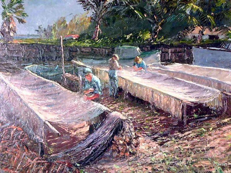 他自学成才,被称为是佛罗里达州画家的院长插图49