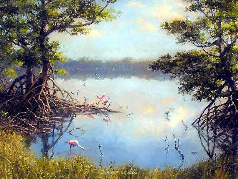 他自学成才,被称为是佛罗里达州画家的院长插图51