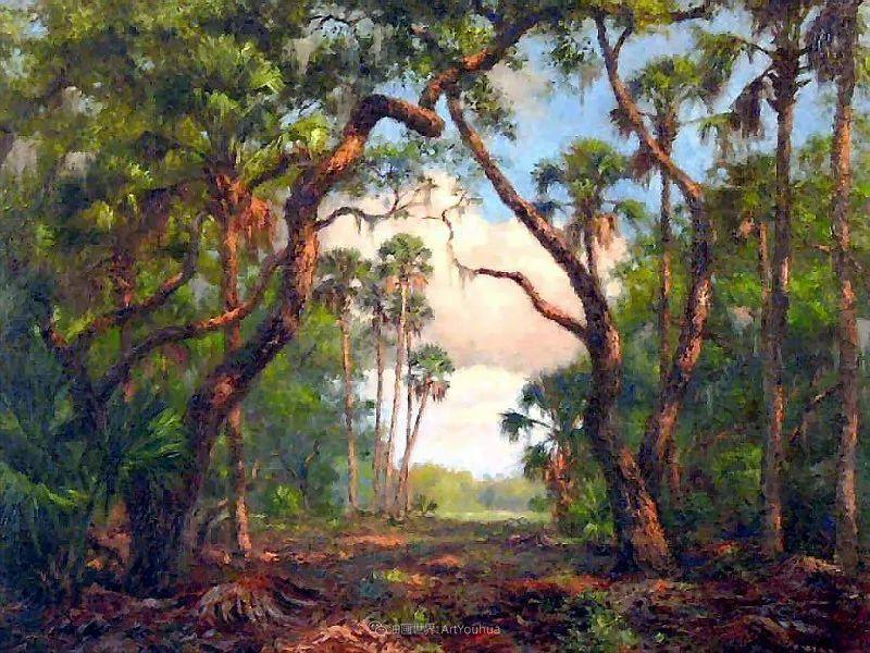 他自学成才,被称为是佛罗里达州画家的院长插图53