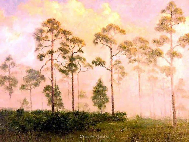 他自学成才,被称为是佛罗里达州画家的院长插图55