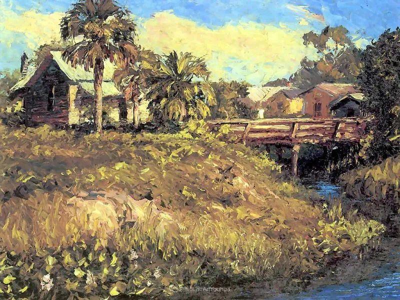 他自学成才,被称为是佛罗里达州画家的院长插图57