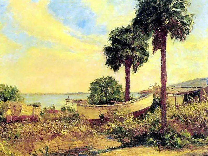 他自学成才,被称为是佛罗里达州画家的院长插图59
