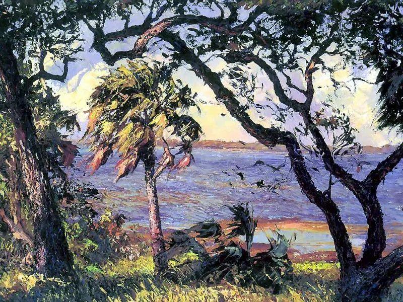 他自学成才,被称为是佛罗里达州画家的院长插图61