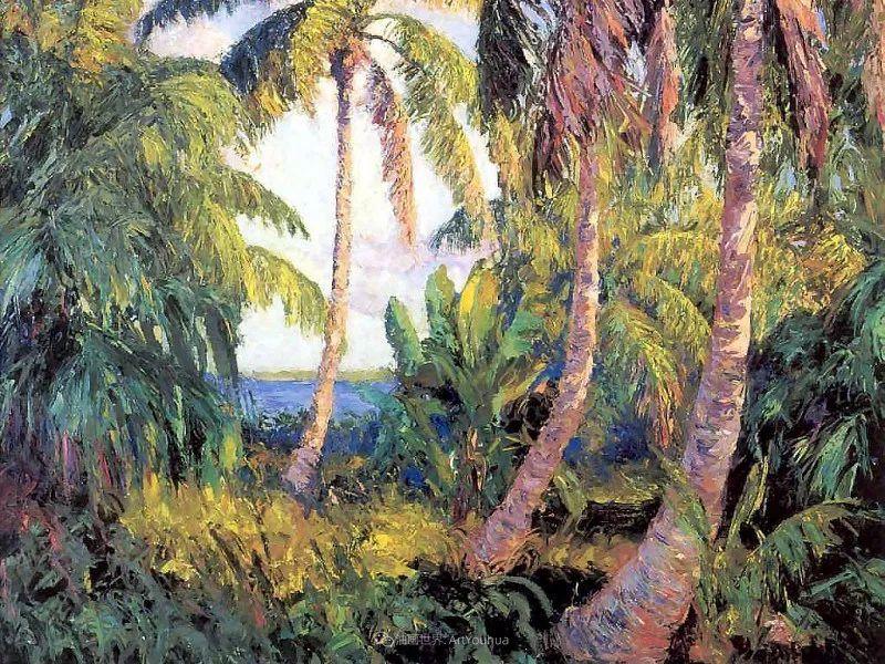 他自学成才,被称为是佛罗里达州画家的院长插图65