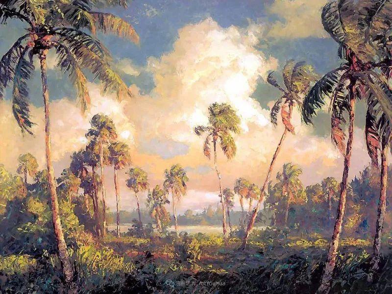 他自学成才,被称为是佛罗里达州画家的院长插图67
