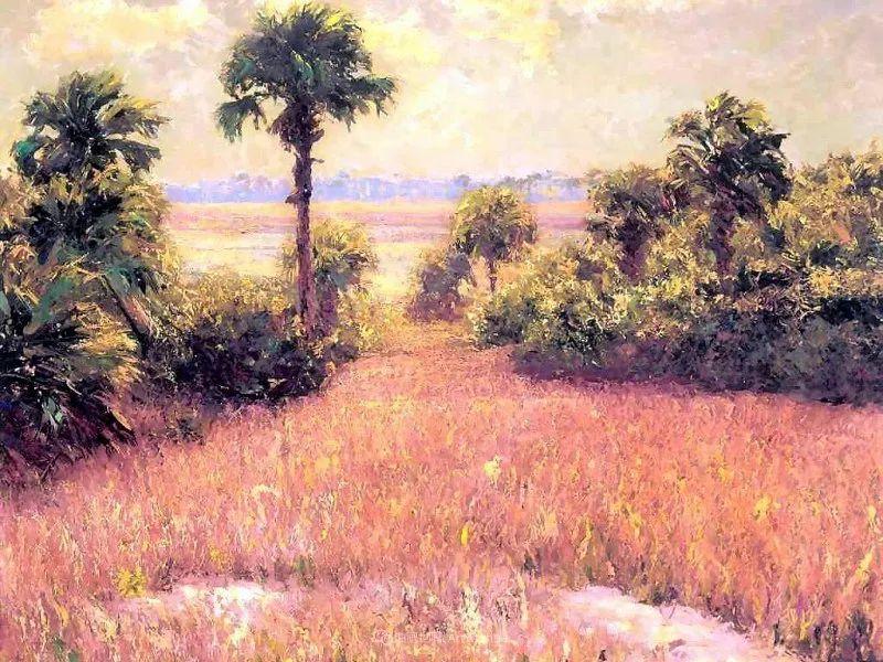 他自学成才,被称为是佛罗里达州画家的院长插图69