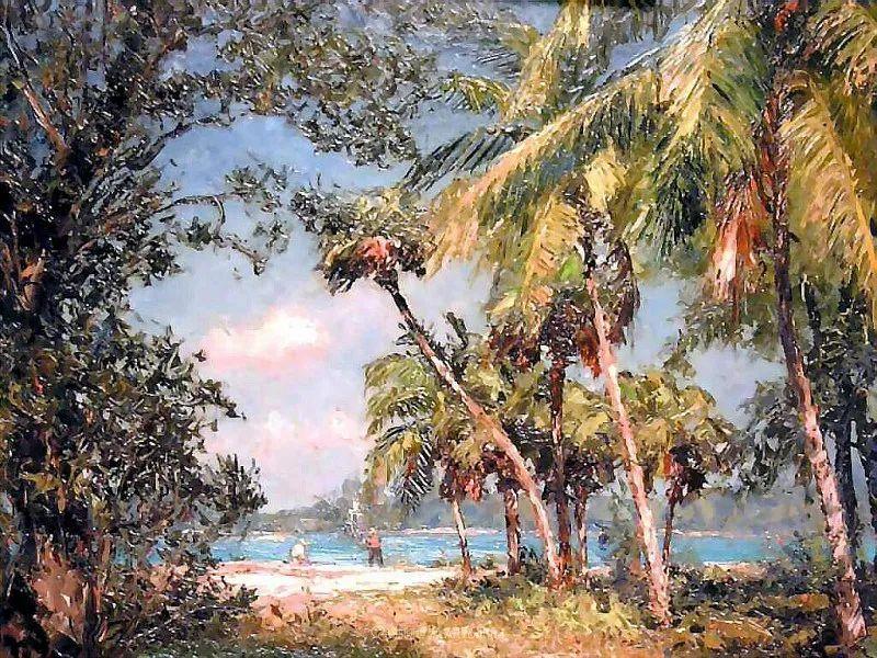 他自学成才,被称为是佛罗里达州画家的院长插图73