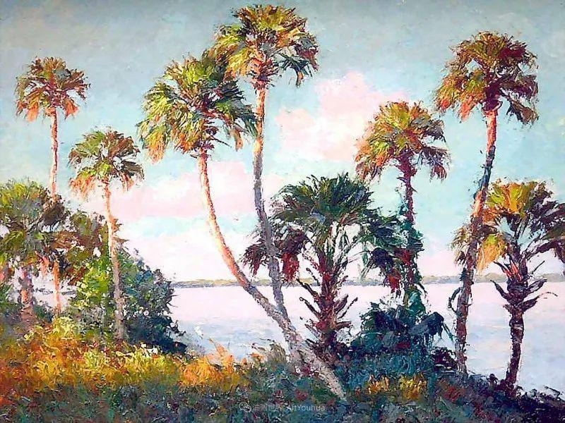 他自学成才,被称为是佛罗里达州画家的院长插图75