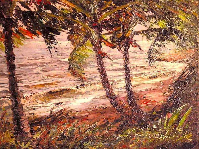 他自学成才,被称为是佛罗里达州画家的院长插图77