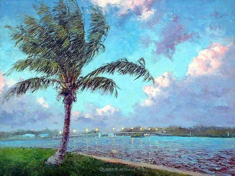 他自学成才,被称为是佛罗里达州画家的院长插图79