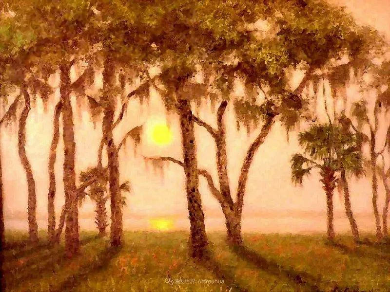 他自学成才,被称为是佛罗里达州画家的院长插图81
