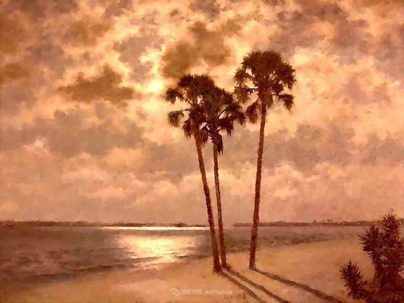 他自学成才,被称为是佛罗里达州画家的院长插图83