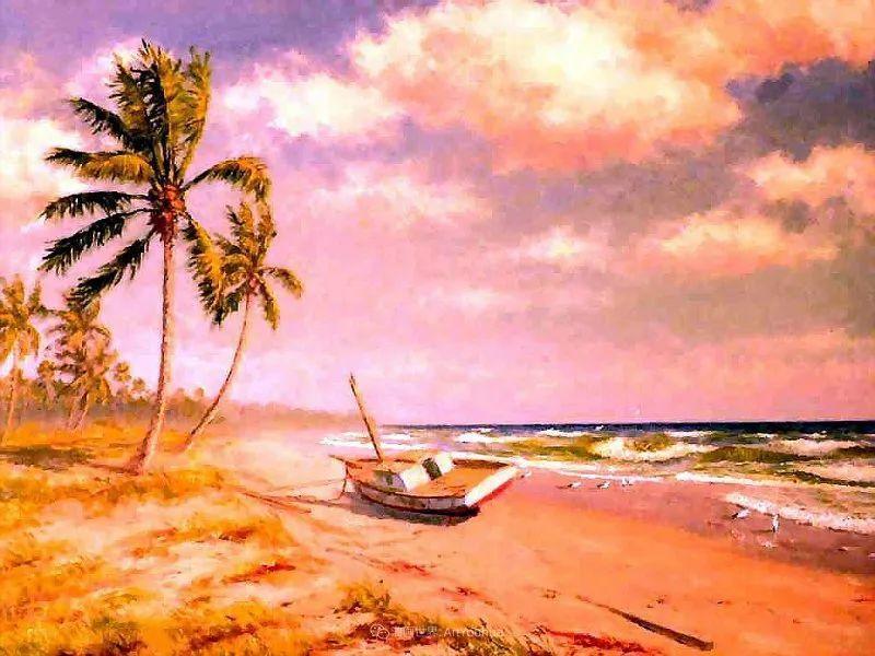 他自学成才,被称为是佛罗里达州画家的院长插图85