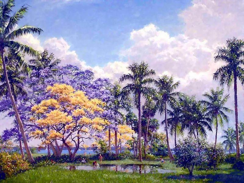他自学成才,被称为是佛罗里达州画家的院长插图87