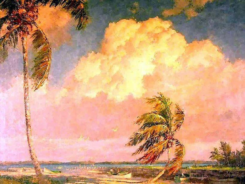他自学成才,被称为是佛罗里达州画家的院长插图89