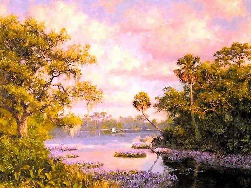 他自学成才,被称为是佛罗里达州画家的院长插图91