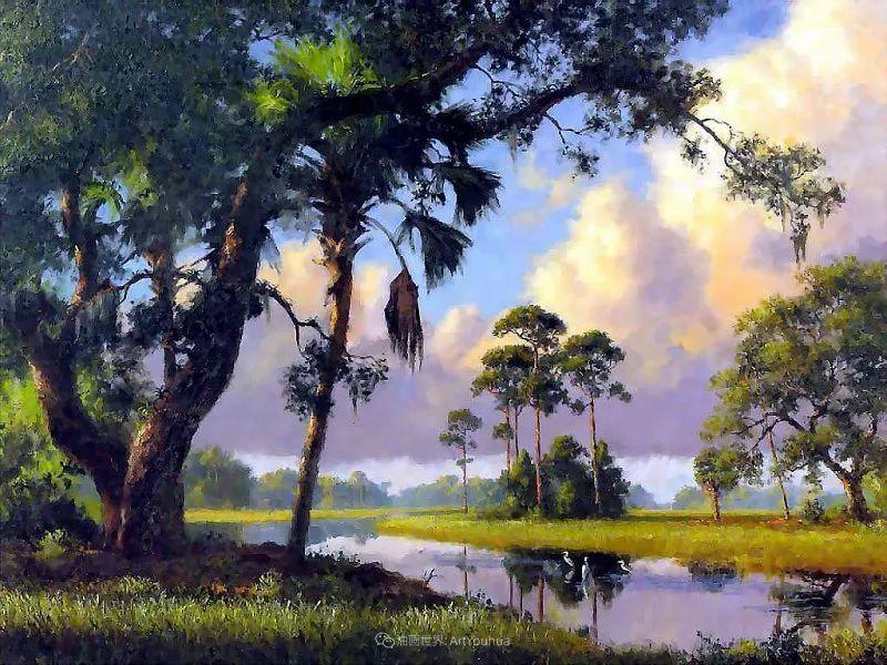 他自学成才,被称为是佛罗里达州画家的院长插图93