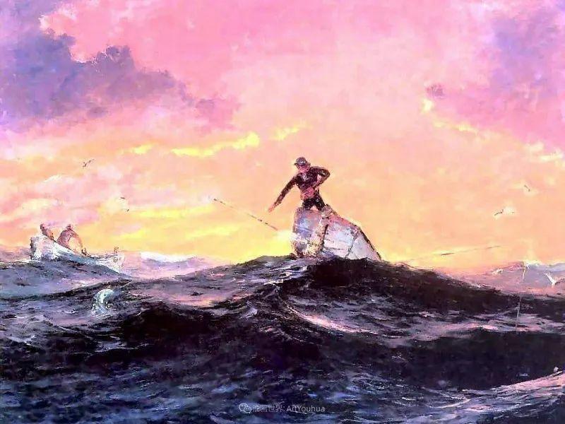 他自学成才,被称为是佛罗里达州画家的院长插图99