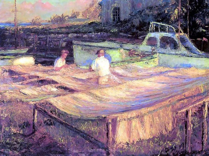他自学成才,被称为是佛罗里达州画家的院长插图103