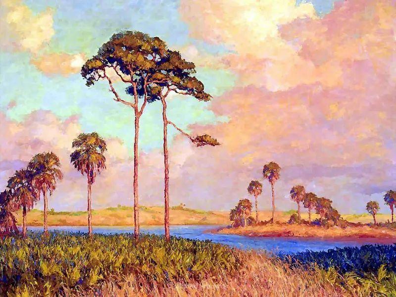 他自学成才,被称为是佛罗里达州画家的院长插图105
