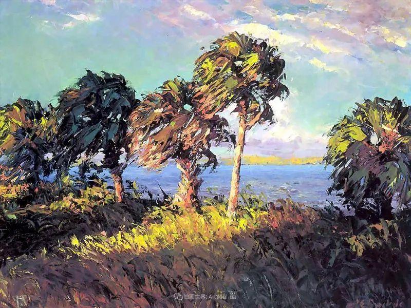 他自学成才,被称为是佛罗里达州画家的院长插图109