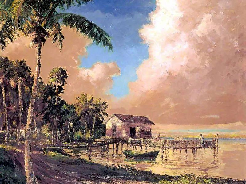 他自学成才,被称为是佛罗里达州画家的院长插图115