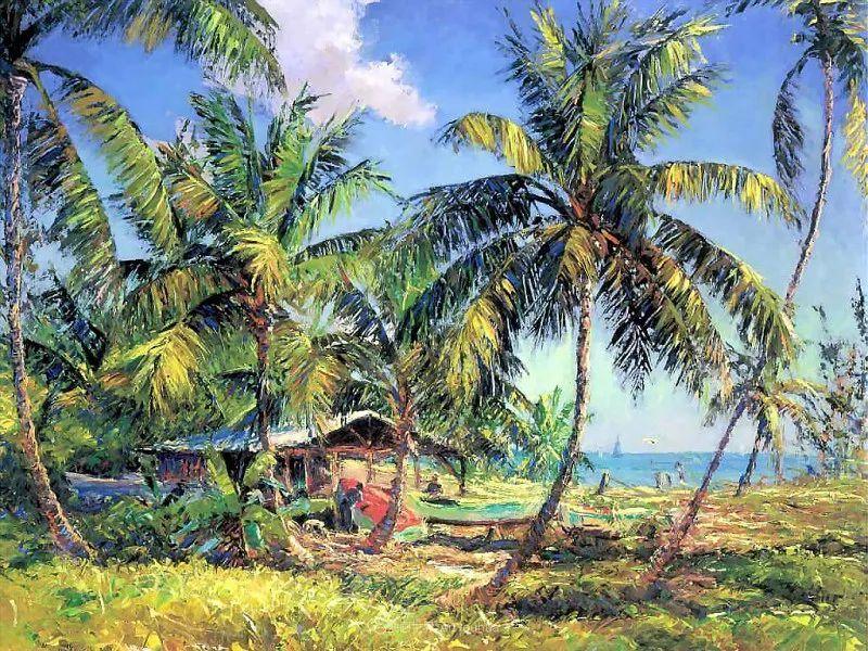 他自学成才,被称为是佛罗里达州画家的院长插图117