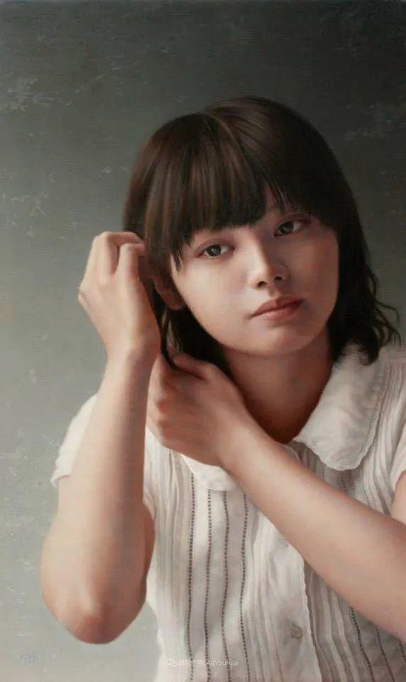 作品细腻逼真,日本超写实画家冨所龍人插图10