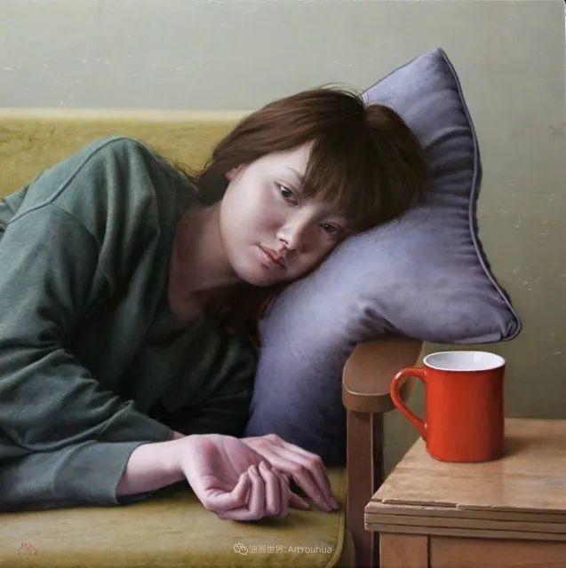 作品细腻逼真,日本超写实画家冨所龍人插图21