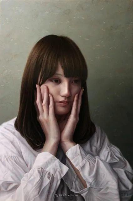 作品细腻逼真,日本超写实画家冨所龍人插图31