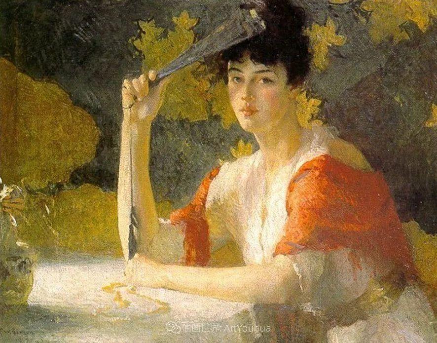 专注于捕捉光线,美国画家弗兰克·韦斯顿·本森插图19