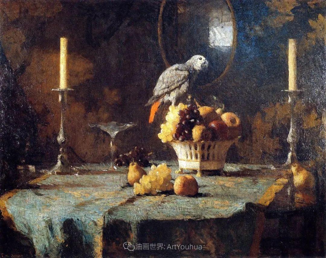 专注于捕捉光线,美国画家弗兰克·韦斯顿·本森插图23