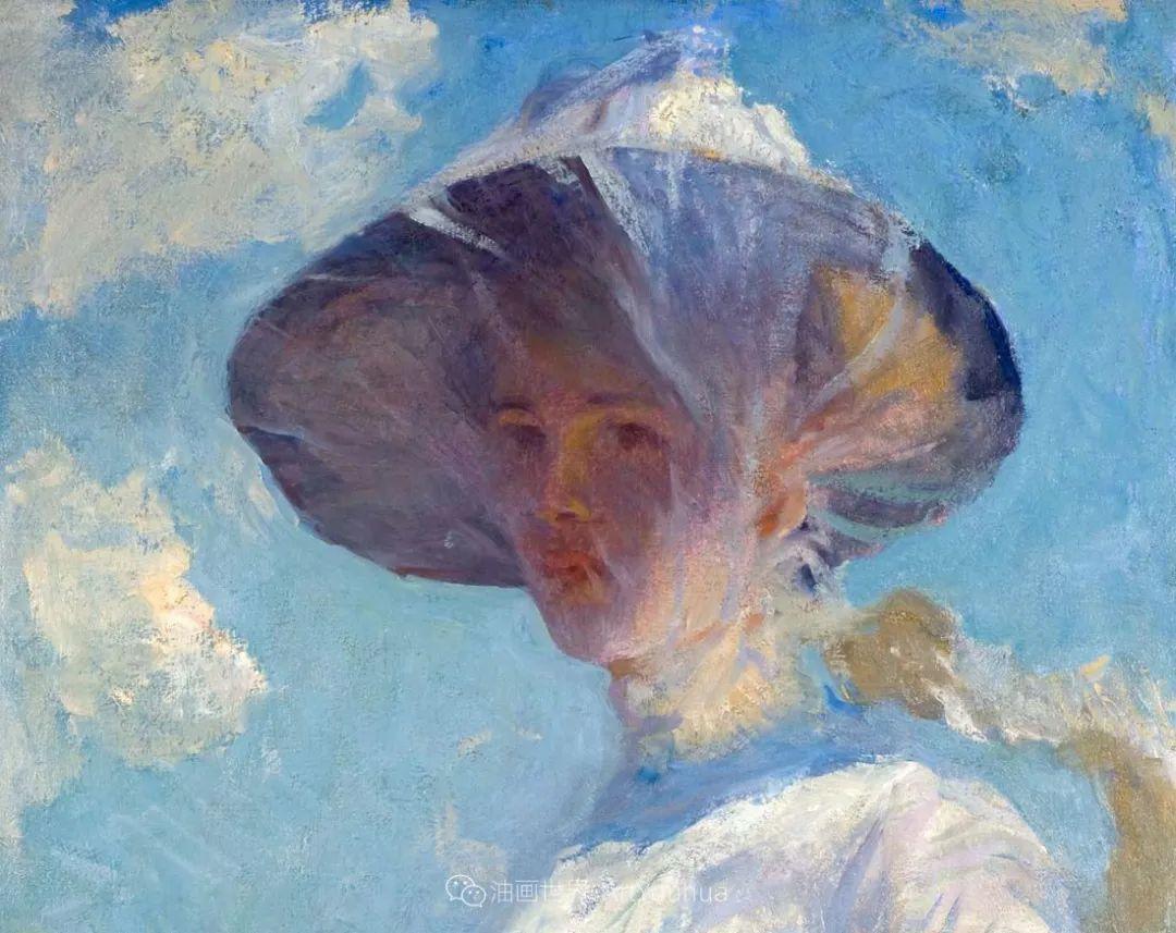 专注于捕捉光线,美国画家弗兰克·韦斯顿·本森插图61