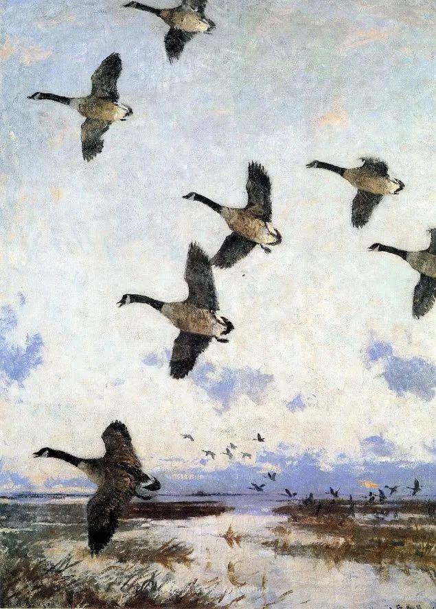 专注于捕捉光线,美国画家弗兰克·韦斯顿·本森插图67