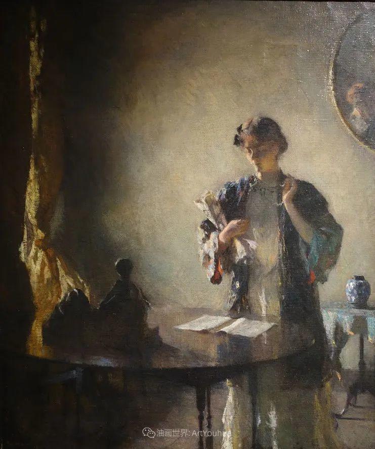专注于捕捉光线,美国画家弗兰克·韦斯顿·本森插图81