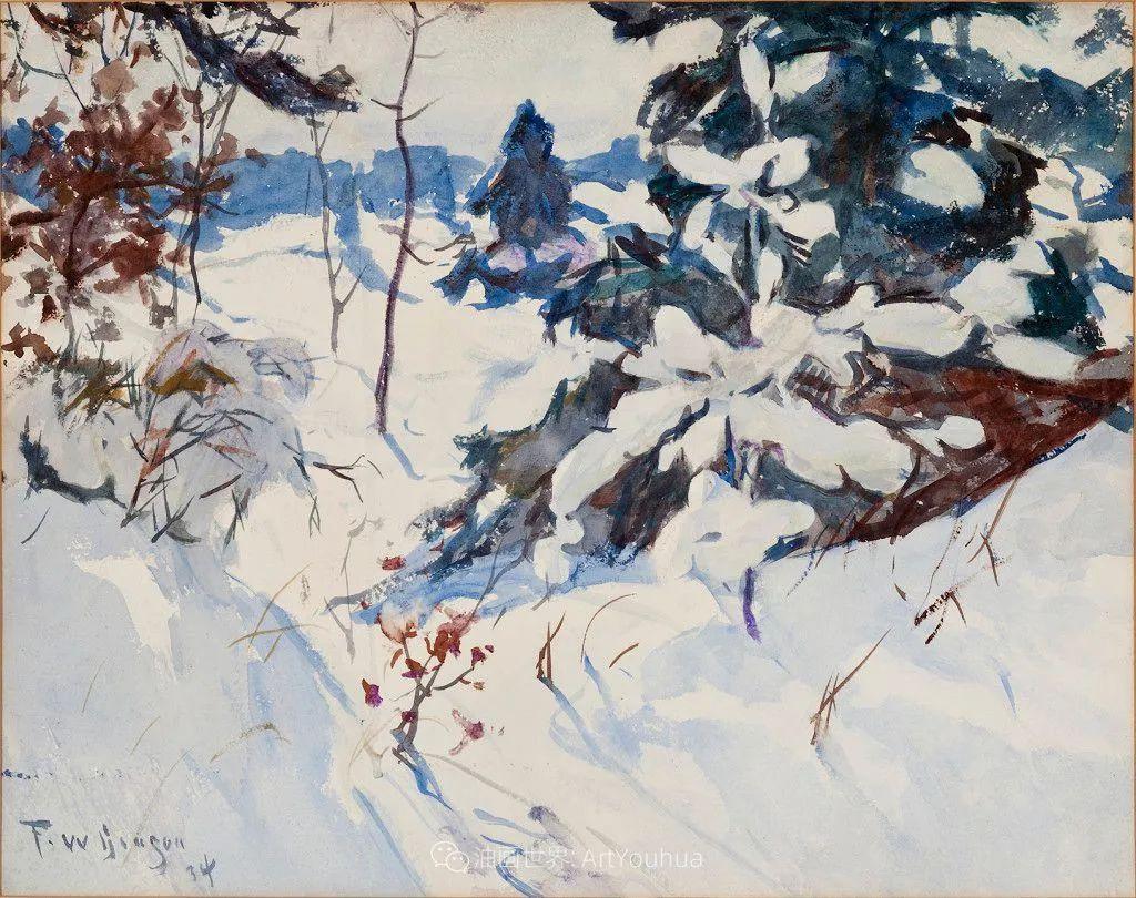 专注于捕捉光线,美国画家弗兰克·韦斯顿·本森插图107