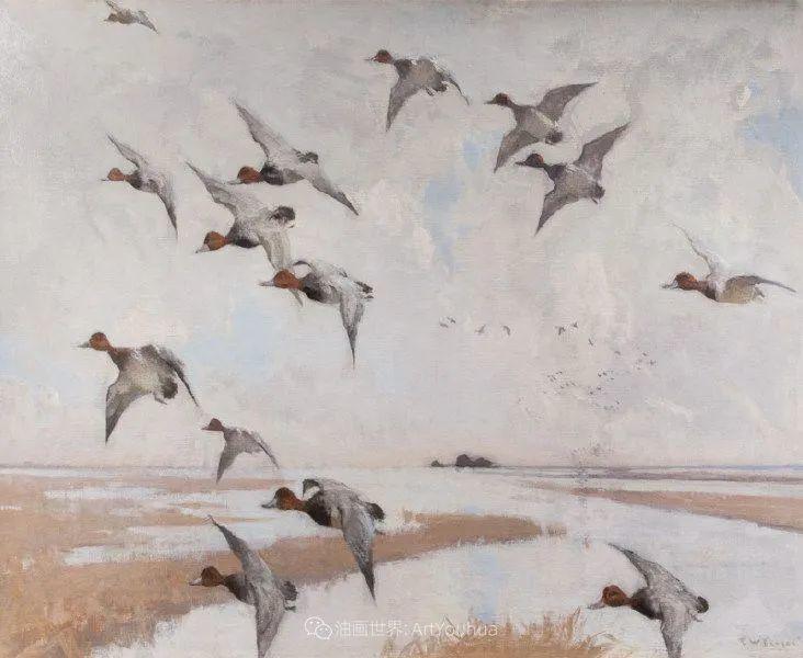 专注于捕捉光线,美国画家弗兰克·韦斯顿·本森插图113