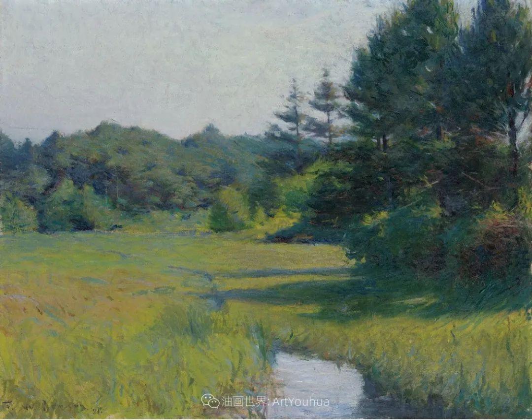 专注于捕捉光线,美国画家弗兰克·韦斯顿·本森插图119