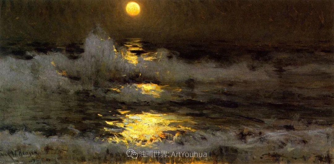 专注于捕捉光线,美国画家弗兰克·韦斯顿·本森插图121